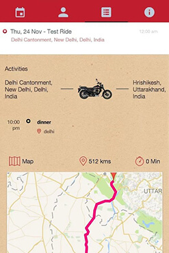 Avenger Tag App - Maintain Riding Calendar