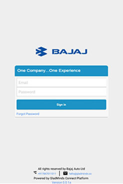 Log In To Bajaj Ezorder App