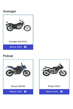 Features of Bajaj Genuine Parts App
