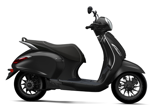 Chetak Electric Scooter Brooklyn Black