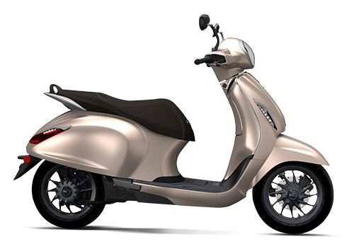 Chetak Electric Scooter Hazelnut
