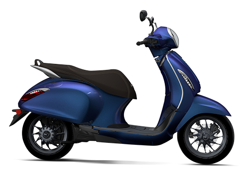 Chetak Electric Scooter Indigo