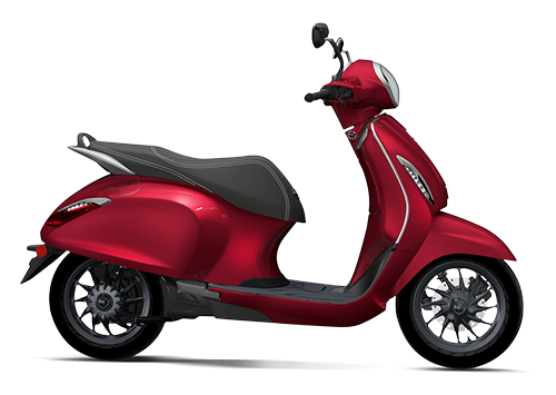 Chetak Electric Scooter Velluto Russo (Red)