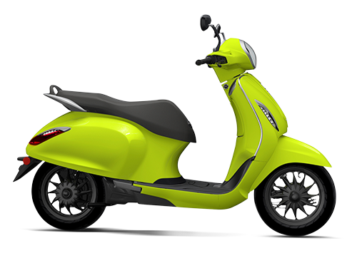 Chetak Electric Scooter Citrus Rush