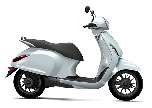 Chetak Electric Scooter Cyber White